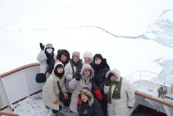 流氷ツアー
