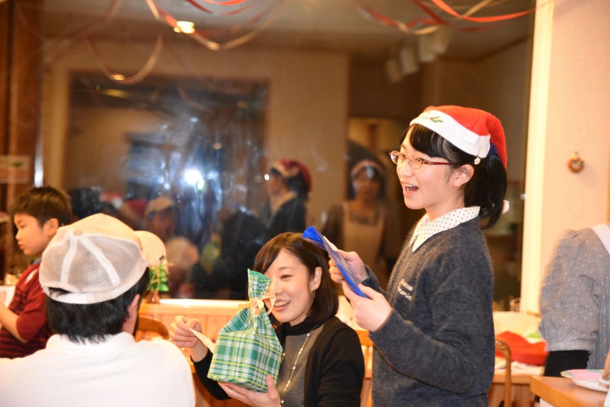 花茶のクリスマスパーティ