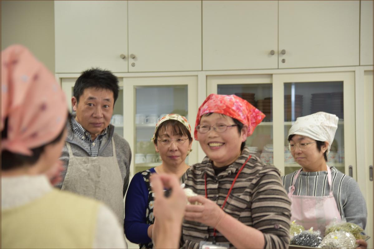 豆で達者に「マンマの料理講習会」