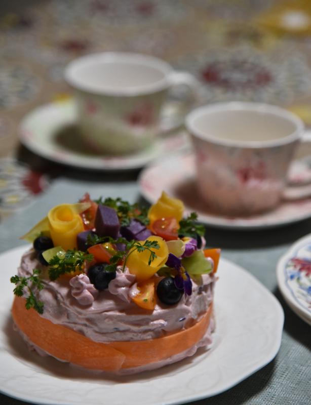 野菜のケーキ(ベジデコ)