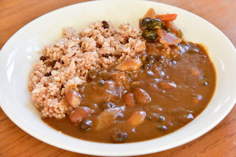 玄米豆カレー