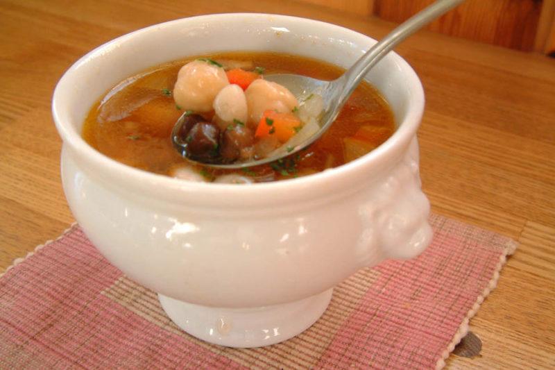 豆たっぷりスープ