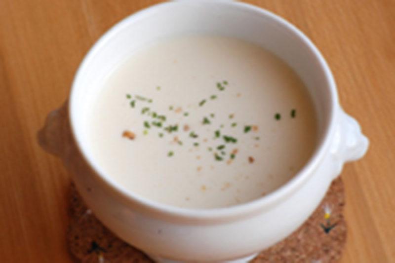 じゃが芋の冷製スープ