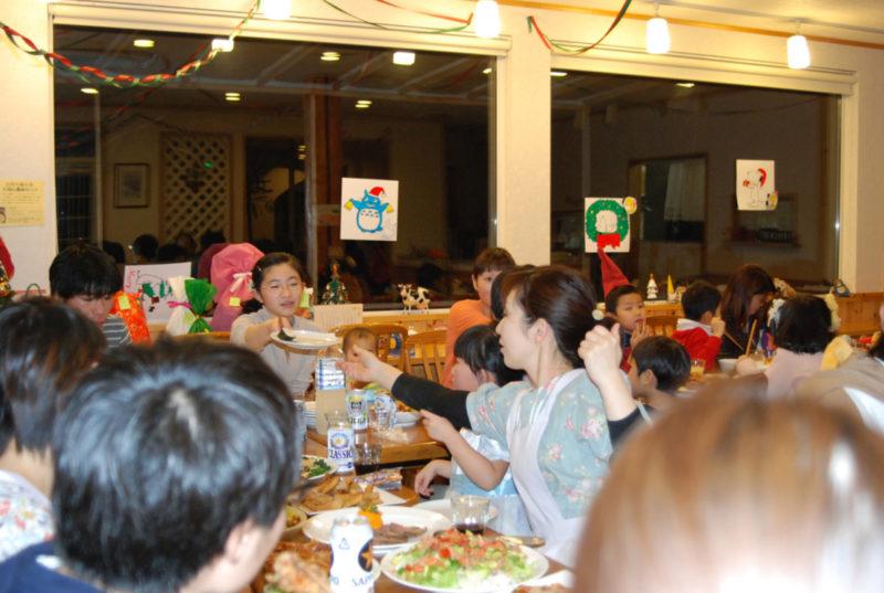 花茶のクリスマスパーティー