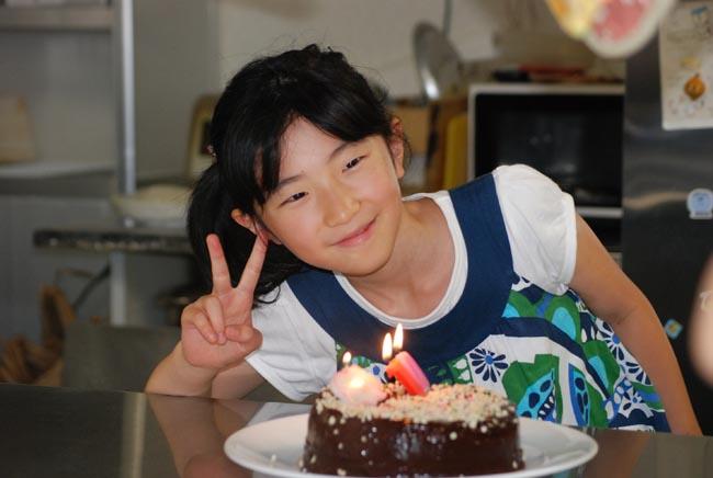 ひなのちゃんの誕生日